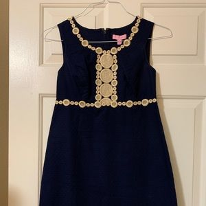 Lilly Pulitzer Navy Shift Dress